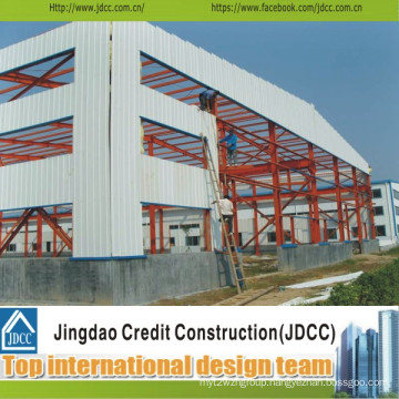 Professional and Low Cost Steel Structure Building Workshop Jdcc1019