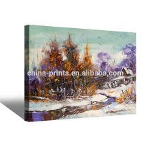 Paisaje Famoso Arte Pintura Fine Canvas