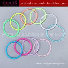 Vente en gros Bracelet en caoutchouc silicone