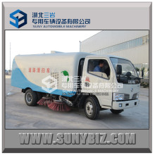 Brand New 5cbm Road Sweep Truck with Cleaning Brushes