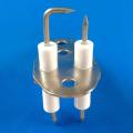 Eletrodo de ignição de cerâmica tipo H para queimador