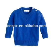 Camisola amigável da caxemira do bebê do eco 15JW0111B