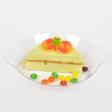 Посуда пластиковая одноразовая тарелка для блюд из пластика