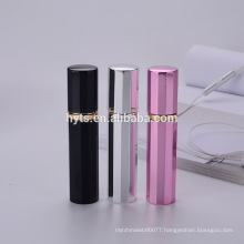 12ml fancy colored perfume atomizer refillable