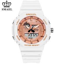 Reloj digital SMAEL Fashion para mujer, las mejores marcas de lujo