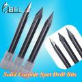 Вольфрамовые ЧПУ Карбидные Микро фрезы для каменного токарного станка радиус R0.2