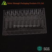 Plastic medication blister tray packaging