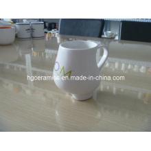 Pregnant Mug, Porcelain Pregnant Mug