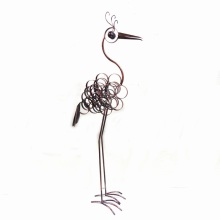 Metal Crane Animal Craft for Home and Garden