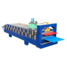 Doppelschicht-Rollenformmaschine für Dach und Wand