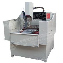 Petite machine de gravure de plaque signalétique en métal de haute précision 400 * 500mm