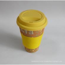 (BC-C1038) Eco Bambus Faser Kaffeetasse mit Druck