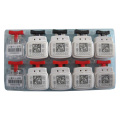 Jcms-002 Security Plastic Meter Seals for Use with Gas, Water and Electric Meters