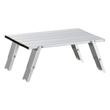Simple cast aluminum patio furniture low camping table