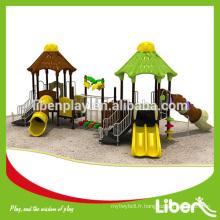 Aire de jeux extérieure professionnelle aire de jeux de luxe carrousel LE.YG.043