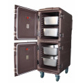 300L Insulated End-Loading Dual Capacity Food Pan Carrier With Dolly