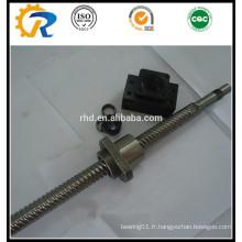 Vis à billes de qualité C5 SFU1610 pour machine CNC