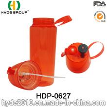 O frasco plástico livre do pulverizador do esporte de 550ml BPA livra (HDP-0627)