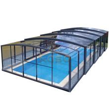 Couverture transparente de piscine de clôture imperméable