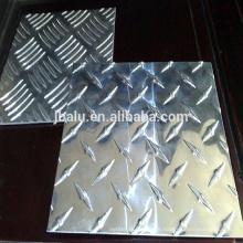 Helle Spiegeloberfläche 3 Bar Aluminium Checker Plate aus China gongyi
