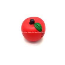 Werbe Apfel geformt Stress Kugeln
