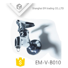 EM-V-B010 Verchromte Polierwandhalterung Wassersenke Messing Bibcock