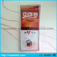 Подгонянный Размер СИД тонкая светлая Коробка плакат Рамка