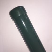 Poteau rond de 40 mm pour clôture avec support