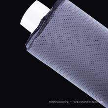 Coudre sur 5cm bande de tissu réfléchissant de couleur noire pour les vêtements