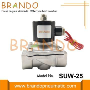 SUW-25 1'' Stainless Steel UNI-D Type Diaphragm Valve
