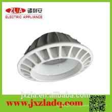 Profondeur industriel en aluminium dissipateur rond, dissipateur de chaleur en aluminium