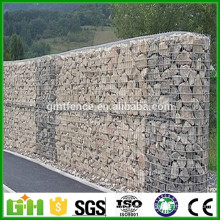 GM Free sample Galvanized or PVC coated woven pvc coated gabion box