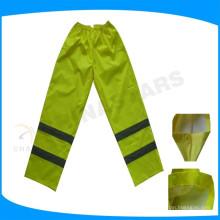 Clase E alta visibilidad a prueba de agua pantalones de trabajo