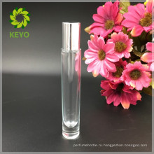 Косметические прозрачные стеклянные ухода за бородой парфюмерное масло белый стекло роликовые бутылки эфирного масла 10ml для упаковки