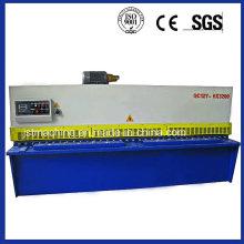 Máquina de cizalladura hidráulica de viga de oscilación (QC12Y-6X3200)