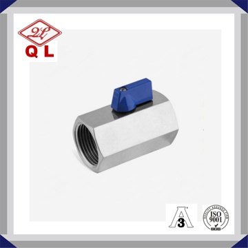 Stainless Steel One-Piece Female Thread Ball Valve