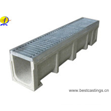 High Load Drain Polymer Concrete Rain Drainage Channel