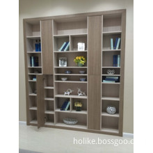 MDF Cabinet with Glass Door (H-104)