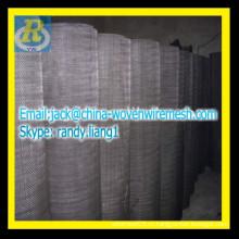 Черный проволочный фильтр ткани / оконный экран