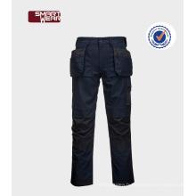 Pantalon de travail de haute qualité de sécurité des hommes pour les travailleurs