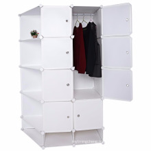Clothes Closet Wardrobe Portable DIY Modular Cube Shelving System Storage Organizer