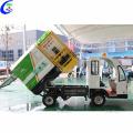 Camión de basura compactador eléctrico sellado