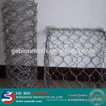 HEISSER VERKAUF PVC beschichtete Gabion Ineinander greifen / galvanisierter Steinkäfig / Kasten (eigene Fabrik)