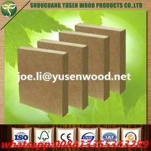 2.5-25mm Free Formaldehyde Emission Raw MDF