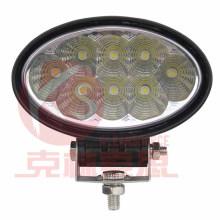 Spot LED de luz de trabalho 24W de alta qualidade, garantia de 2 anos