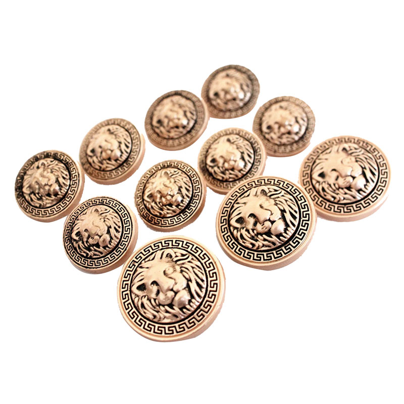 Lion Metal Buttons