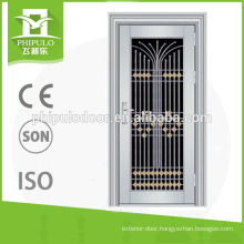 2016 hot sale 201 stainless steel door made in Yongkang