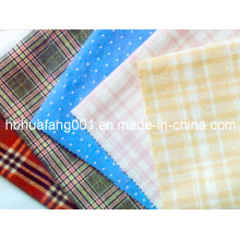 100% Cotton Check and Plaid Yarn Dyed Poplin Fabric (HFYD)