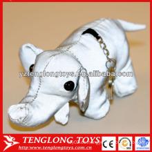 Juguete reflexivo de la felpa del juguete del elefante del nuevo diseño de la Navidad del diseño