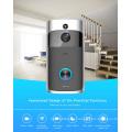 Appareil-photo visuel intelligent d'ange de 130 degrés de sonnette visuelle intelligente de Wifi avec la basse consommation